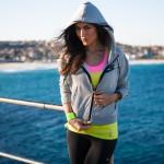 stylish women's sporty hoodies